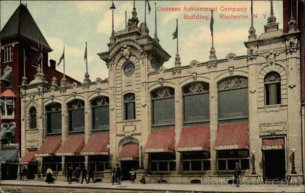 Genesee Amusement Company Building Rochester New York
