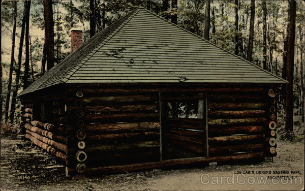Log Cabin Durand Eastman Park Rochester Ny