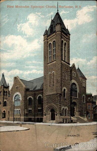 First Methodist Episcopal Church Rochester New York