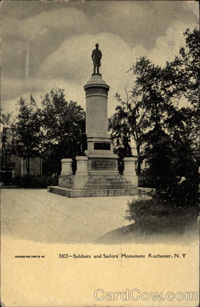 Soldiers and Sailors' Monument Rochester New York