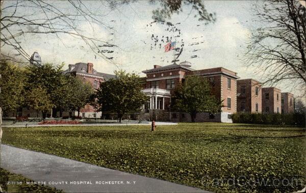 Monroe County Hospital Rochester New York