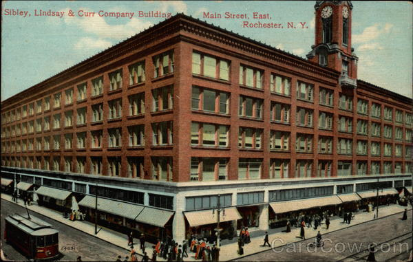 Sibley, Lindsay & Curr Company Building, Main Street, East Rochester New York
