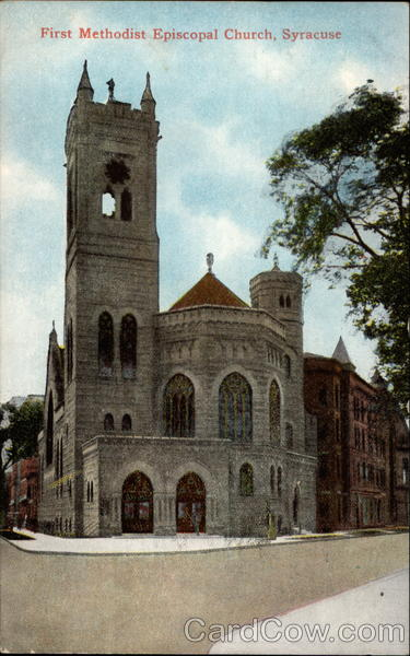 First Methodist Episcopal Church Syracuse New York