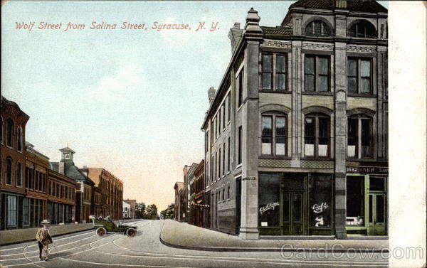 Wolf Street from Salina Street Syracuse New York