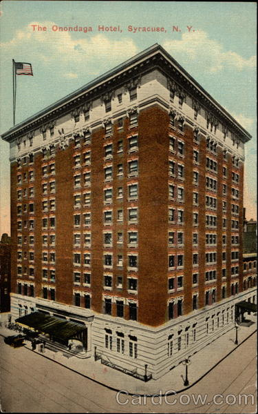 The Onondaga Hotel Syracuse New York
