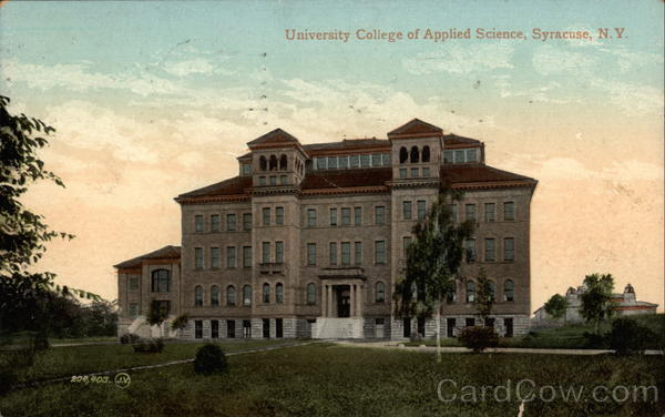 University College of Applied Science Syracuse New York