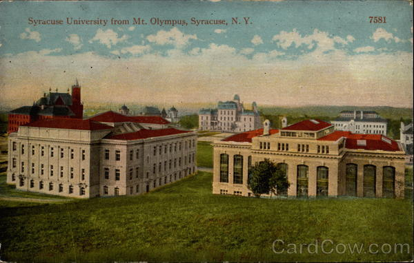 Syracuse University from Mt. Olympus New York