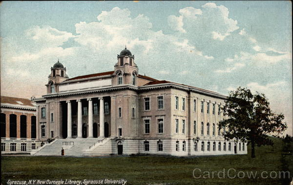 New Carnegie Library, Syracuse University New York