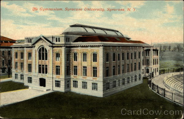 The Gymnasium, Syracuse University New York