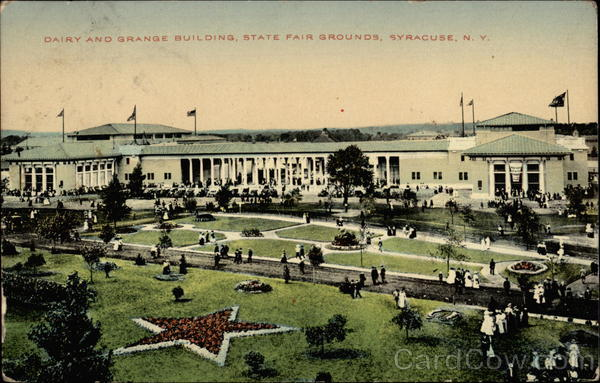 Dairy and Grange Building at State Fair Grounds Syracuse New York