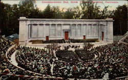 Commencement Day, Greek Theatre