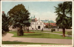 Old Mission Church Postcard