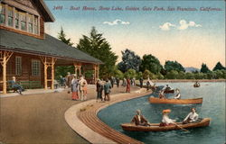 Boat House, Stow Lake, Golden Gate Park