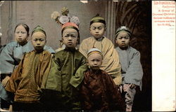 A Group of Chinese Children