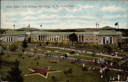 New Dairy and Grange Building, N.Y. State Fair
