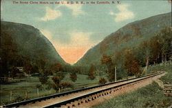 The Stony Clove Notch on the U. & D. R. R., in the Catskills, N. Y