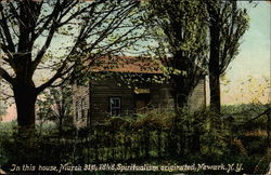 Birthplace of Spritualism Postcard
