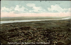 Fishkill, N.Y. and the Hudson River from Mt. Beacon Postcard