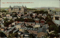 Bird's-eye view of the Capitol Postcard
