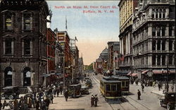 North on Main Street from Court Street