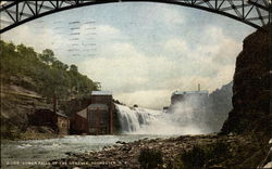 Lower Falls of the Genesee Postcard