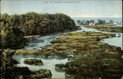 The Mrshes, Irondequoit Bay Postcard