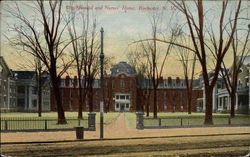 Old Hospital and Nurses' Home Postcard