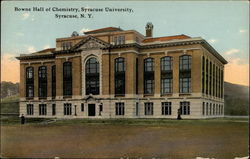 Bowne Hall of Chemistry, Syracuse University