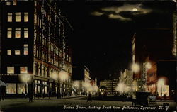 Salina Street, looking South from Jefferson
