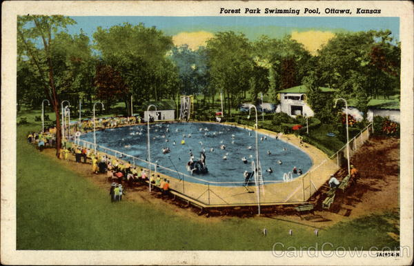 Forest Park Swimming Pool Ottawa Ks