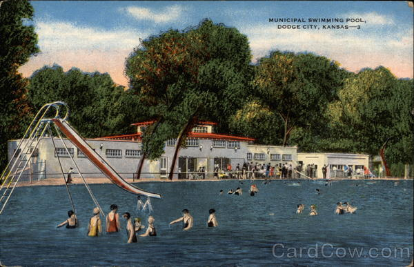 Municipal swimming pool dodge city ks for Public swimming pools kansas city