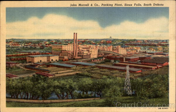 John Morrell & Co., Packing Plant Sioux Falls South Dakota
