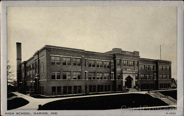High School Marion Indiana