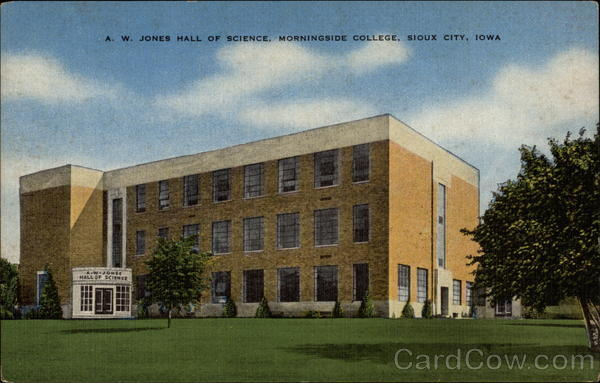 A. W. Jones Hall of Science, Morningside College Sioux City Iowa