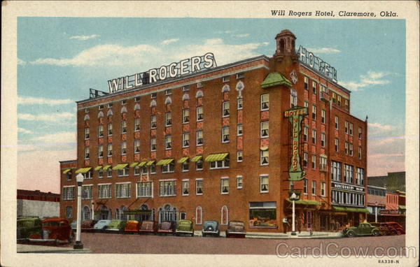 Will Rogers Hotel Claremore Oklahoma