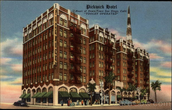 Pickwick Hotel San Diego California