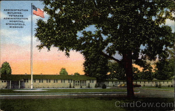 Administration Building, Veterans Administration Hospital Springfield Missouri