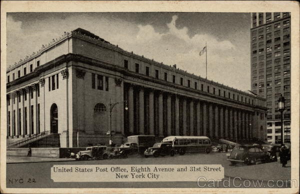 United States Post Office, Eighth Avenue and 31st Street New York City