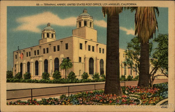 Terminal Annex, United States Post Office Los Angeles California