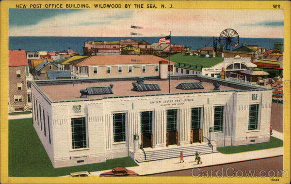 New Post Office Building Wildwood-By-The-Sea New Jersey