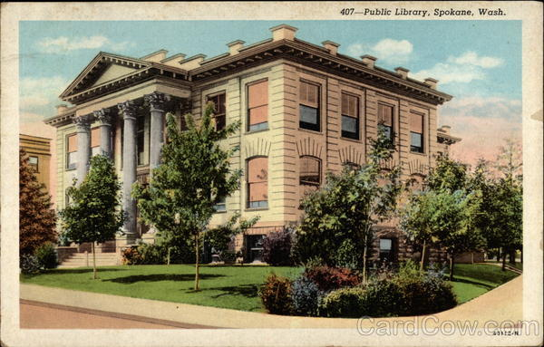 Public Library Spokane Washington