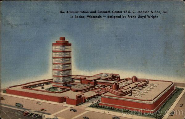 The Administration and Research Center of S.C. Johnson & Son, Inc Racine Wisconsin