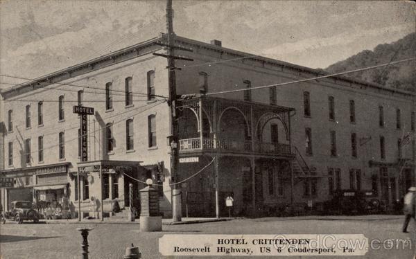 Hotel Crittenden Coudersport Pennsylvania
