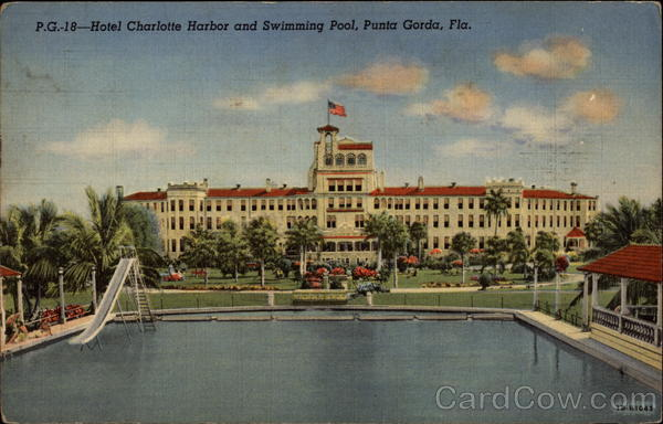 hotel charlotte harbor and swimming pool punta gorda fl. Black Bedroom Furniture Sets. Home Design Ideas