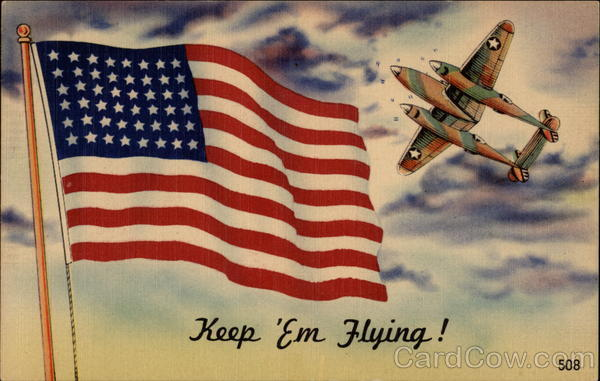 Keep 'Em Flying Patriotic