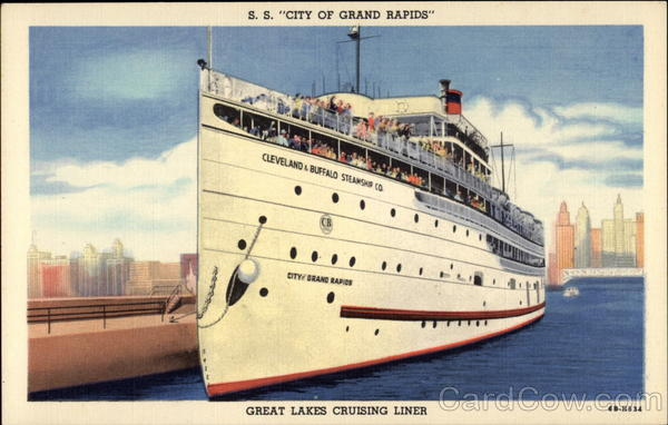 S. S. City of Grand Rapids Cruise Ships