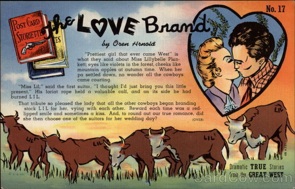 The love brand Cowboy Western