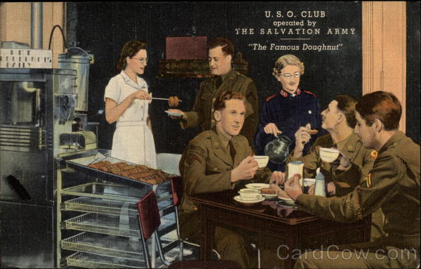 USO Club operated by The Salvation Army World War II