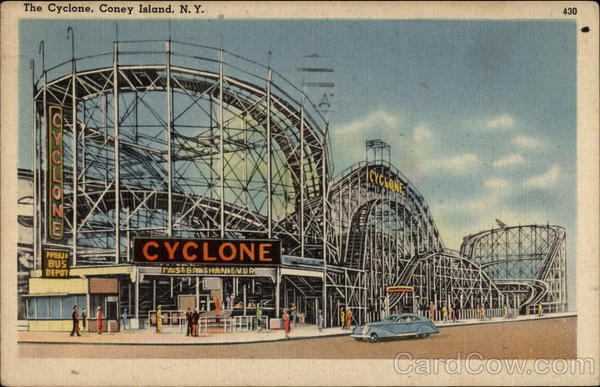 The Cyclone Coney Island New York