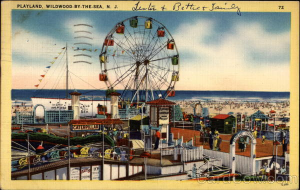 Playland Wildwood-By-The-Sea New Jersey Amusement Parks